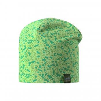 Lassie Шапка (зеленый с принтом) уголок детский ушастик зеленый 95 95