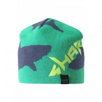 Шапка (зеленый с акулой)Одежда<br>; Размеры в наличии: S, M, L.<br>