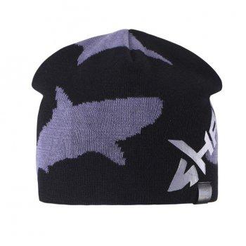 Шапка (черный с акулой)Одежда<br>; Размеры в наличии: S, M, L.<br>