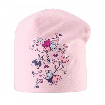 Шапка (розовый с цветами)Одежда<br>; Размеры в наличии: S, M, L.<br>