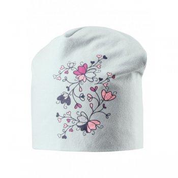 Шапка (мятный с цветами)Одежда<br>; Размеры в наличии: S, M, L.<br>