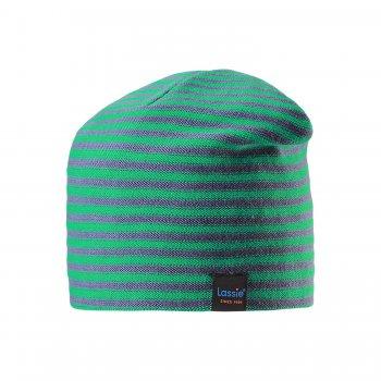 Lassie Шапка (зеленый в полоску) lassie шапка бледно зеленый
