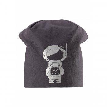 Шапка (серый с космонавтом)Одежда<br>; Размеры в наличии: S, M, L.<br>