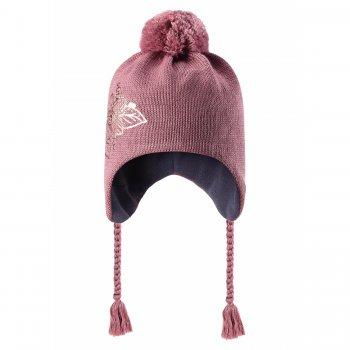 Шапка (темно-розовый с цветком)Одежда<br>; Размеры в наличии: S, M, L.<br>