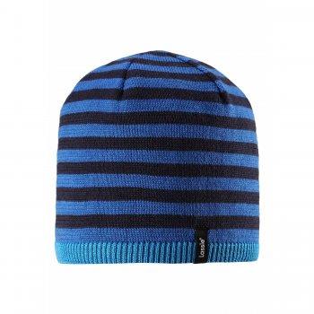 Шапка (синий в полоску)Одежда<br>; Размеры в наличии: S, M, L.<br>