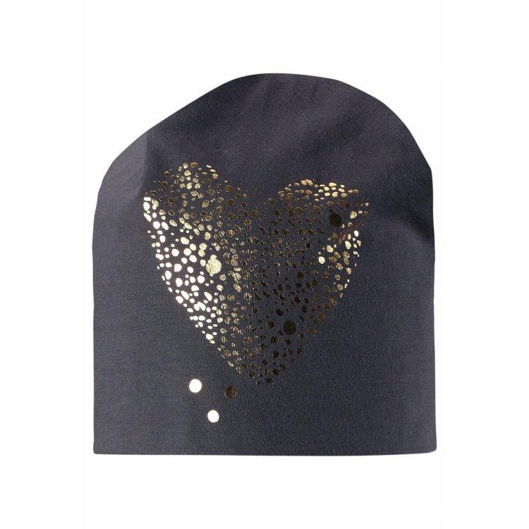 Шапка (серый с сердцем)Одежда<br>; Размеры в наличии: 3, 4, 5.<br>