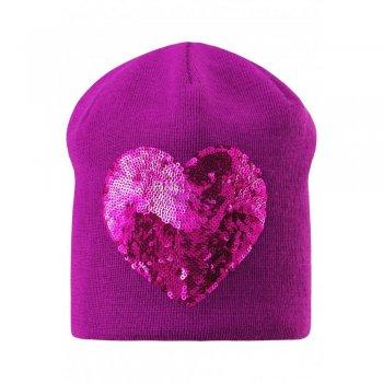 цена на Lassie Шапка (фиолетовый с сердцем)