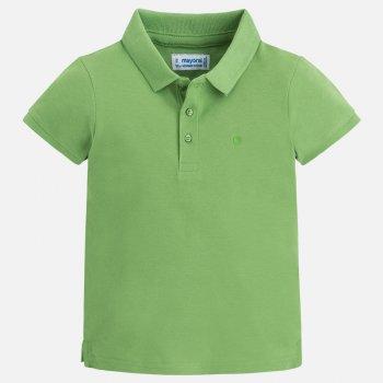 Футболка-поло (зеленый)Одежда<br>Описание: <br><br>Характеристики: <br>Верх:100% хлопок<br>Производитель: MAYORAL (Испания)<br>Страна производства: Бангладеш<br>Модель производится в размерах: 2-9 лет<br>Коллекция: Весна/Лето 2018<br>; Размеры в наличии: 2, 3, 4, 5, 6, 7, 8, 9.<br>