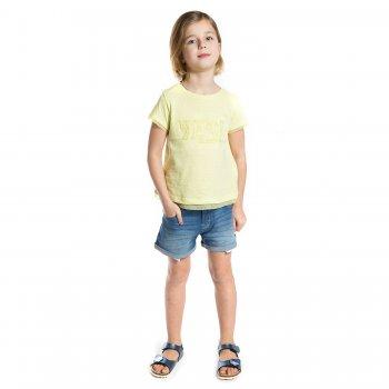 Шорты с подворотами (голубой)Одежда<br>Материал<br>Верх: 98% хлопок, 2% эластан<br>Описание<br> Джинсовые шорты с подворотами на девочку-подростка. Эластичная ткань средней плотности не сковывает движения. Модель дополнена регулировкой по поясу, застегивается на пуговицу. Стильным дополнением являются слегка торчащие карманы.<br>Утяжки на поясе, застежка-пуговица.<br>Производитель: MAYORAL (Испания)<br>Страна производства: Индия<br>Коллекция: Весна/Лето 2017<br>Модель производится в размерах: 10-18 лет; Размеры в наличии: 10, 12, 14, 16, 18.<br>