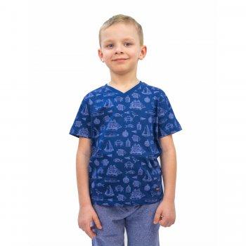 Комплект из 2 футболок (синий и серый)Одежда<br>Материал<br>Верх: 100% хлопок<br>Описание<br>Комплект из 2 футболок для мальчика<br>Производитель: MAYORAL (Испания)<br>Страна производства: Бангладеш<br>Коллекция: Весна/Лето 2016<br>Модель производится в размерах: 2-9 лет<br>; Размеры в наличии: 2, 3, 4, 5, 6, 7, 8, 9.<br>