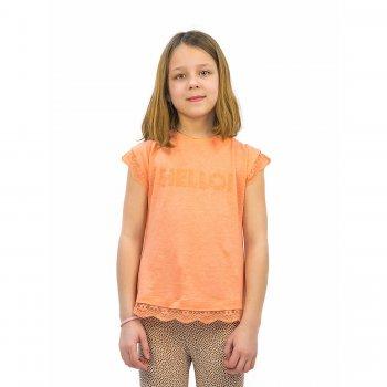 Футболка (оранжевый)Одежда<br>Материал<br>Верх: 50% лен 50% лиоцел<br>Описание<br>Производитель: MAYORAL (Испания)<br>Страна производства: Бангладеш<br>Коллекция: Весна/Лето 2016<br>Модель производится в размерах: 2-9 лет<br>; Размеры в наличии: 2, 3, 4, 5, 6, 7, 8, 9.<br>
