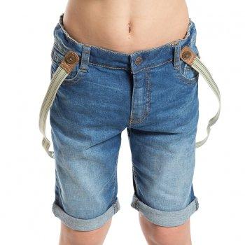 Шорты с подтяжками (голубой)Одежда<br>Материал<br>Верх: 98% хлопок, 2% эластан<br>Описание<br>Джинсовые шорты с подворотами на мальчика. Эластичная ткань средней плотности не сковывает движения. Модель дополнена регулировкой по поясу, застегивается на пуговицу. Стильным дополнением являются отстегивающиеся подтяжки. <br>Утяжка на поясе, застежка-кнопка.<br>Производитель: MAYORAL (Испания)<br>Страна производства: Бангладеш<br>Коллекция: Весна/Лето 2017<br>Модель производится в размерах: 2-9 лет; Размеры в наличии: 2, 3, 4, 5, 6, 7, 8, 9.<br>