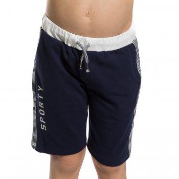 Шорты (синий)Одежда<br>Материал<br>Верх: 95% хлопок, 5% эластан<br>Описание<br> Трикотажные шорты для мальчиков от 2 до 9 лет.  На поясе резинка со шнурком, спереди удобные глубокие карманы. Мягкая и приятная на ощупь ткань. <br>Производитель: MAYORAL (Испания)<br>Страна производства: Индия<br>Коллекция: Весна/Лето 2017<br>Модель производится в размерах: 2-9 лет; Размеры в наличии: 2, 3, 4, 5, 6, 7, 8, 9.<br>