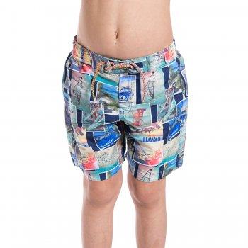 Шорты пляжные (разноцветный)Одежда<br>Материал<br>Верх: 100% полиэстер<br>Описание<br>Купальные шорты для мальчиков от 2 до 9 лет выполнены из быстросохнущего материала.  Модель дополнена подкладкой из сетки, широкой резинкой с регулируемой завязкой-шнурком на поясе. <br>Производитель: MAYORAL (Испания)<br>Страна производства: Китай<br>Коллекция: Весна/Лето 2017<br>Модель производится в размерах: 2-9 лет; Размеры в наличии: 2, 3, 4, 5, 6, 7, 8, 9.<br>