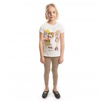 Комплект: футболка, лосины (белый с девочкой)Комбинезоны<br>Материал<br>Верх: 92% хлопок 8% эластан<br>Описание<br>Стильный комплект для девочек состоящий из удлиненной футболки и лосин<br>Производитель: MAYORAL (Испания)<br>Страна производства: Индия<br>Коллекция: Весна/Лето 2016<br>Модель производится в размерах: 2-9 лет<br>; Размеры в наличии: 2, 3, 4, 5, 6, 7, 8, 9.<br>