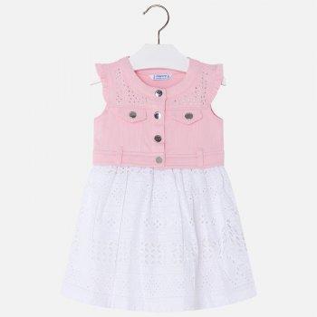 Платье (розовый с белым)Одежда<br>; Размеры в наличии: 2, 3, 4, 5, 6, 7, 8, 9.<br>