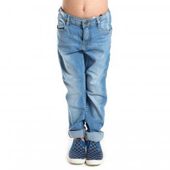 Джинсы с подворотами (голубой)Одежда<br>Материал<br>Верх: 97% хлопок, 3% эластан<br>Описание<br>Джинсы с подворотами для мальчика-подростка от испанского бренда Mayoral. Произведены в размерах 10-18 лет. Модель Slim Fit с декоративными потертостями, выполнена из хлопка с добавлением эластана, дополнена передними и задними функциональными карманами. Застегивается на удобную кнопку. Посадку можно отрегулировать при помощи утяжки по поясу.<br>Производитель: MAYORAL (Испания)<br>Страна производства: Пакистан<br>Коллекция: Весна/Лето 2017<br>Модель производится в размерах: 10-18 лет; Размеры в наличии: 10, 12, 14, 16, 18.<br>
