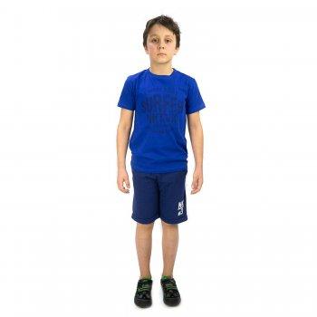 Комплект: футболка, шорты (синий)Одежда<br>Материал<br>Верх: 100% хлопок<br>Описание<br>Производитель: MAYORAL (Испания)<br>Страна производства: Индия<br>Коллекция: Весна/Лето 2016<br>Модель производится в размерах: 10-18 лет<br>; Размеры в наличии: 10, 12, 14, 16, 18.<br>