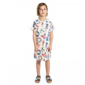 Платье (белый с буквами)Одежда<br>Платье прямого кроя с приятным принтом для девочки-подростка испанского бренда Mayoral. Производится в размерах 10-18 лет.  Прекрасно подойдет в качестве повседневной одежды.<br> Производитель: MAYORAL (Испания)<br> Страна производства: Китай<br> Коллекция: Весна/Лето 2017<br> Модель производится в размерах: 10-18 лет  <br> Верх: 65% вискоза, 30% полиэстер, 5% эластан<br>; Размеры в наличии: 10, 12, 14, 16, 18.<br>
