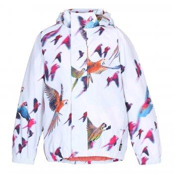 Куртка Waiton (бледно-голубой с птицами)Куртки<br>; Размеры в наличии: 86/92, 92/98, 98/104, 110/116, 122/128, 134/140, 146/152.<br>