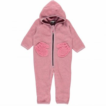Molo Флисовый комбинезон Udo Bubble Pink (розовый)