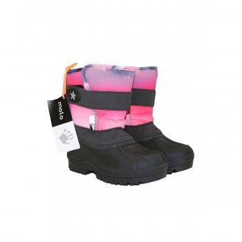 Сноубутсы Driven (розовый принт) от Molo, арт: 41299 - Обувь