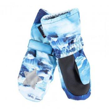 Рукавицы Igor (голубой с хаски) от Molo, арт: 46455 - Одежда