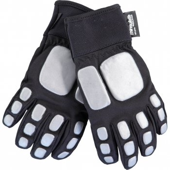 Купить Перчатки Madrobot (черный), Molo