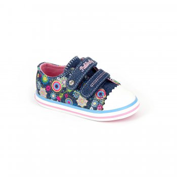 Кеды (синий с розовым) от Pablosky, арт: 30537 - Обувь