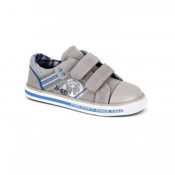 Кеды (бежевый с якорем)Обувь<br>Описание<br>Красивые кеды для теплой и сухой погоды. Кеды Pablosky по праву можно считать одними из лучших. Оригинальный дизайн, отличное качество, вентилируемая стелька, достаточно жесткий задник - это далеко не все их достоинства. Такие кеды пригодятся в любой сезон - зимой их можно носить в качестве сменной обуви в садик или на физкультуру. <br>Материал<br>Верх: текстиль, искусственные материалы. <br>Подкладка: текстиль, стелька - натуральная кожа.<br>Подошва: полимерные материалы. <br>Производитель: Pablosky (Испания).<br>Коллекция Весна-Лето 2018<br>Страна производства: Китай.<br>Температурный режим<br>От +10 градусов и выше.; Размеры в наличии: 25, 26, 27, 28, 29, 30, 31, 32, 33, 34, 35, 36.<br>