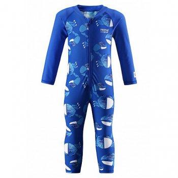 Комбинезон для плавания Maracuya (синий с принтом)Одежда<br>; Размеры в наличии: 74, 80, 86.<br>