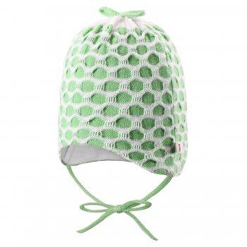 Шапочка для новорожденных Vanilja (зеленый)Одежда<br>; Размеры в наличии: 40, 44.<br>