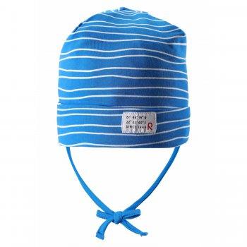 Шапка для малышей Fennel (голубой в полоску)Одежда<br>; Размеры в наличии: 48, 50, 52.<br>
