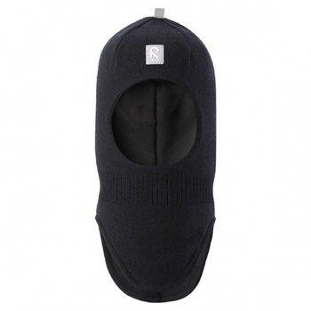 Шлем Starrie (черный)Одежда<br>Производитель: Reima (Финляндия)<br> Страна производства: Китай<br> Коллекция: Осень-Зима 2017<br>  <br> Верх: 100% шерсть.<br> Утеплитель: нет<br> Подкладка: смесь хлопка и эластана<br><br> Температурный режим <br> от +5 до -10 градусов; Размеры в наличии: 48, 50, 52, 54.<br>