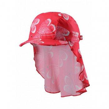 Панама Octopus (розовый с разводами)Одежда<br>Эта панама  не только закрывают голову от палящего солнца, но и благодаря длинному отвороту сзади, защищают шею и плечи от обгорания. Еще одно отличие панам Reima от остальных - материал. Как и вся одежда из пляжной коллекции, они сшиты из быстросохнущего эластичного матриала Sunproof, а значит их не надо снимать даже во время купания.    Верх: 80% хлопок, 20% эластан<br> Подкладка: нет<br> Производитель: Reima (Финляндия)<br> Страна производства: Китай<br> Модель производится в размерах: 44/46-56/58<br> Коллекция: Весна-Лето 2018<br>; Размеры в наличии: 48, 52.<br>