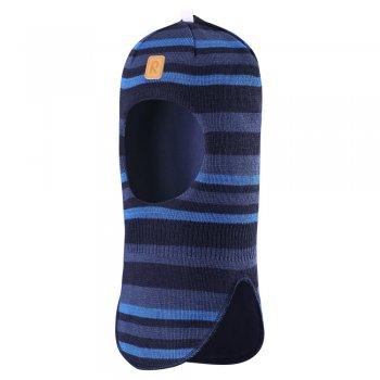 Reima Шлем утепленный Simo (синий в полоску)