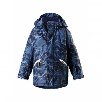 Куртка Reimatec Nappaa (темно-синий)Куртки<br>Зимняя куртка для мальчиков. Мембранная ткань не пропускает снег и ветер и отводит влагу от тела во время физической активности, синтетический утеплитель отлично сохраняет тепло. Поэтому ребенку будет комфортно и тепло на улице и во время спокойных прогулок, и во время активных игр. Все основные швы проклеены для максимальной водонепроницаемости. Высокий воротник, утепленный флисом, хорошо закрывает шею, специальная планка защищает подбородок от соприкосновения с верхним краем молнии. Пояс и низ куртки регулируются с помощью внутренних утяжек для максимальной теплоизоляции. Манжеты на липучках удобно надеваются поверх рукавиц любой толщины. Безопасный капюшон на кнопках легко снимается. Вместительные боковые карманы застегиваются на молнию. Светоотражающие элементы делают ребенка хорошо заметным на дороге в темное время суток.<br><br> Производитель: Reima (Финляндия)<br> Страна производства: Китай<br> Модель производится в размерах: 92-140<br> Коллекция: Осень-Зима 2017<br>   капюшон отстегивается с помощью кнопок, защитная планка молнии на липучке, защита подбородка от защемления, карманы на молнии, манжеты на липучке, утяжка на талии, утяжка по подолу, светоотражающие элементы.  <br> Верх: 100% полиэстер.<br> Утеплитель: 160 грамм (100% полиэстер).<br> Подкладка: 100% полиэстер<br> Водонепроницаемость: 8000 мм<br> Паропроводимость: 7000 г/м2/24ч<br> Износостойкость: 30000 об.<br><br> Температурный режим <br> от +5 до -10 градусов; Размеры в наличии: 104, 110, 116, 122, 128, 134, 140.<br>