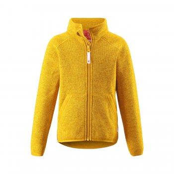 Флисовая кофта Hopper (желтый)Одежда<br>Материал:<br>Верх: 100% полиэстер (флис).<br>Описание:<br>Функциональные элементы:<br>Производитель: Reima (Финляндия)<br>Страна производства: Китай<br>Коллекция: Осень-Зима 2016<br>Температурный режим:; Размеры в наличии: 104, 110, 116, 122, 128, 134, 140.<br>