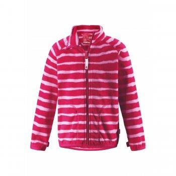 Reima Флисовая кофта Steppe (розовый в полоску) reima толстовка steppe