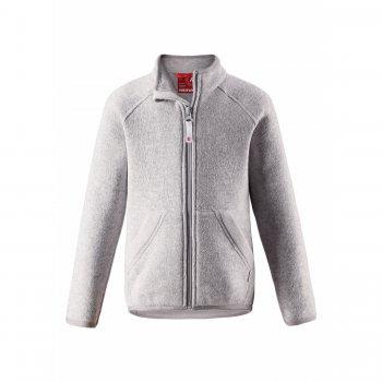 Флисовая кофта Hopper (серый)Одежда<br>; Размеры в наличии: 104, 110, 116, 122, 128, 134, 140.<br>