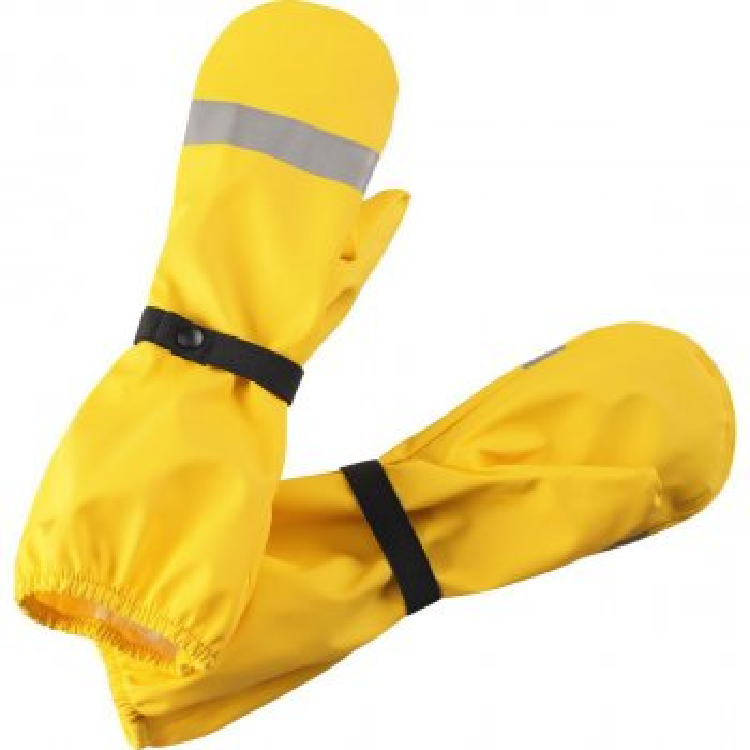 Рукавицы прорезиненные Kura (желтый)Одежда<br>; Размеры в наличии: 1, 2, 3, 4, 5.<br>