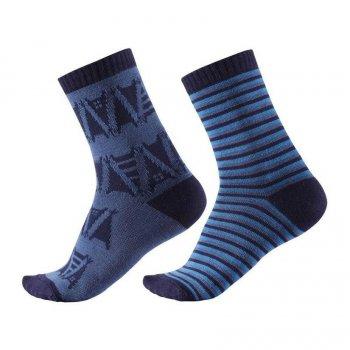 Reima Носки Sturm 2 пары (синий с орнаментом)