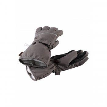 Перчатки Harald (серый)Одежда<br>Материал: <br>Верх: 100% полиэстер.<br>Утеплитель: 80 грамм (100% полиэстер).<br>Подкладка: теплая ворсистая подкладка из смеси шерсти<br>Водонепроницаемость: 8000 мм.<br>Паропроводимость: 7000 г/м2/24ч<br>Износостойкость: 30000 об.<br>Описание: <br>Функциональные элементы: <br>Производитель: Reima (Финляндия).<br>Страна производства: Китай.<br>Коллекция: Осень-Зима 2017<br>Температурный режим: <br>от 0 до -20 градусов.; Размеры в наличии: 2, 3, 4, 5, 6, 7, 8.<br>