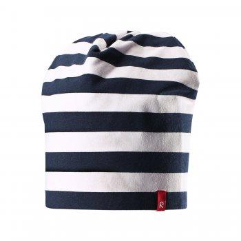 Шапка  двусторонняя Frappe (темно-синий в полоску)Одежда<br>; Размеры в наличии: 50, 54.<br>