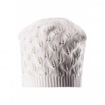 Reima Шапка Lilja (белый меланж) шапка для девочки reima lilja цвет розовый 5285763290 размер 44