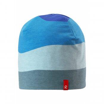 Шапка Tanssi (синие волны)Одежда<br>; Размеры в наличии: 52, 56.<br>