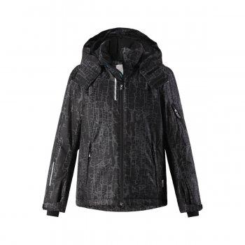 Куртка Reimatec Detour (черный)Куртки<br>Производитель: Reima (Финляндия)<br> Страна производства: Китай<br> Модель производится в размерах: 104-164<br> Коллекция: Осень-Зима 2017<br>    капюшон отстегивается с помощью кнопок, регулируется по объему, защита подбородка от защемления, карманы на молнии, карман для Ski-Pass, манжеты на липучке, эластичные манжеты, утяжка по подолу, снежная юбка, светоотражающие элементы. <br> Верх: 100% полиэстер.<br> Утеплитель: 140 грамм (100% полиэстер).<br> Подкладка: 100% полиэстер<br> Водонепроницаемость: 5000 мм<br> Паропроводимость: 4000 г/м2/24ч<br> Износостойкость: 15000 об.<br><br> Температурный режим <br> от +5 до -10 градусов; Размеры в наличии: 140, 146, 152, 158, 164.<br>