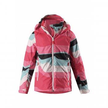 Куртка 3 в 1 Tibia (розовые волны)