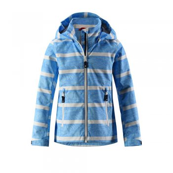 Reima Куртка Reimatec Suvi (голубой в полоску) reima куртка reimatec suvi голубой в полоску
