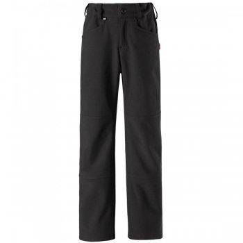 Брюки Softshell Mighty (черный)Полукомбинезоны, штаны<br>Описание: <br>Стильные брюки для подростков из материала Softshell<br>Характеристики: <br>Верх: 100% полиэстер.<br>Утеплитель: нет<br>Подкладка: 100% полиэстер (флис)<br>Водонепроницаемость: 10000 мм<br>Паропроводимость: 5000 г/м2/24ч<br>Износостойкость: нет<br>Производитель: Reima (Финляндия)<br>Страна производства: Китай<br>Коллекция: Осень-Зима 2017<br>Температурный режим: <br>от +7 до -5 градусов; Размеры в наличии: 122, 128, 134, 140, 146, 152, 158, 164.<br>